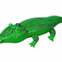 """Intex Надувная игрушка-наездник 168х86см """"Крокодил"""" от 3 лет"""
