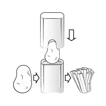 Аппарат для нарезания картофеля, фото 2