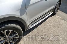 Пороги, Original Style для Hyundai Santa Fe (2012-2018), фото 3