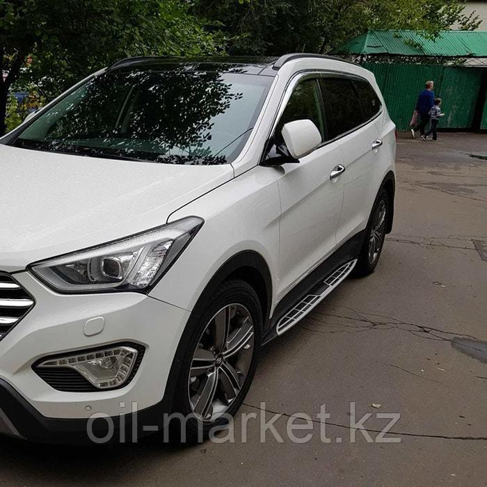 Пороги, Original Style для Hyundai Santa Fe (2012-2018)