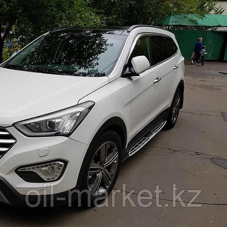 Пороги, Original Style для Hyundai Santa Fe (2012-2018), фото 2