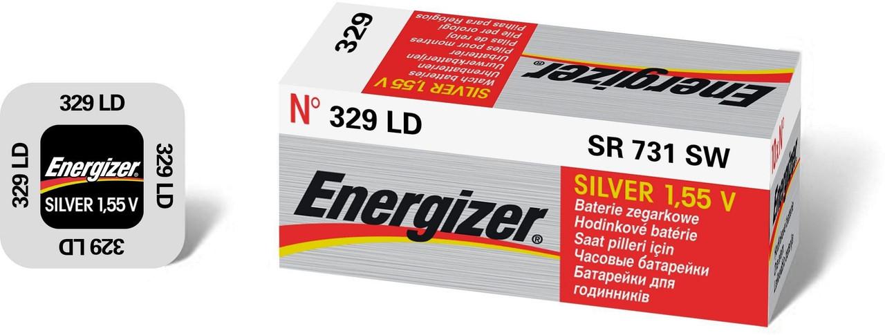 Батарейка ENERGIZER Silver Oxide 329 SR731SW