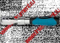 "Ключ телескопический трещоточный 3/8"", 215-315 мм, CrV, хромир., 2-х комп. рукоятка //Gross"