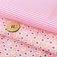 Набор ткани для пэчворка 'Яркий момент', 2 лоскута 50 x 65 см