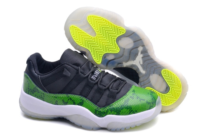 Кроссовки Nike Air Jordan 11 (XI) Retro Low Snakeskin (36-47)