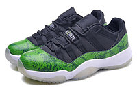 Кроссовки Nike Air Jordan 11 (XI) Retro Low Snakeskin (36-47), фото 2