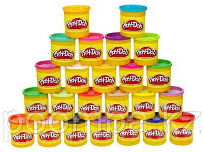 Набор пластилина Play Doh 24 банки