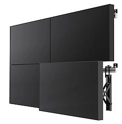 Комплект видеостены 2х2 ZAXTEAM 49 дюймов, шов 3.5 мм