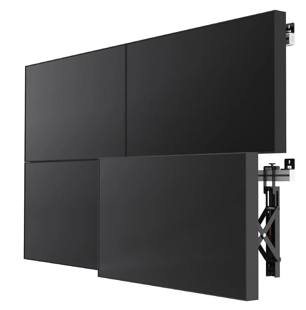 Комплект видеостены 2х2 ZAXTEAM 55 дюймов, шов 3.5 мм