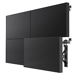 Комплект видеостены 2х2 HYUNDAI 55 дюймов, шов 3.5 мм