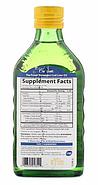 Carlson Labs, Жир печени дикой норвежской трески, натуральный лимонный вкус, 250 мл (8,4 унц.), фото 2