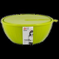 Салатник Bono 2,8 л с крышкой оливковая роща