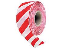 Лента оградительная ЛО-200 красно-белая