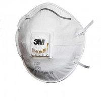 Респиратор для защиты от пыли и туманов 3М 8122 с клапаном выдоха, 2-й степени защиты. До 12 ПДК