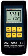 Анемометр воздуха и воды серии GMH- 3330