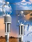 Анемометры HD2003, HD 2003.1 ультразвуковые, которые измеряют скорость и направление ветра