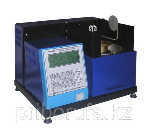 Аппарат автоматический для определения температуры вспышки в открытом тигле АТВО-20