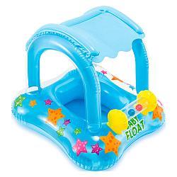 Intex Круг для малышей с навесом