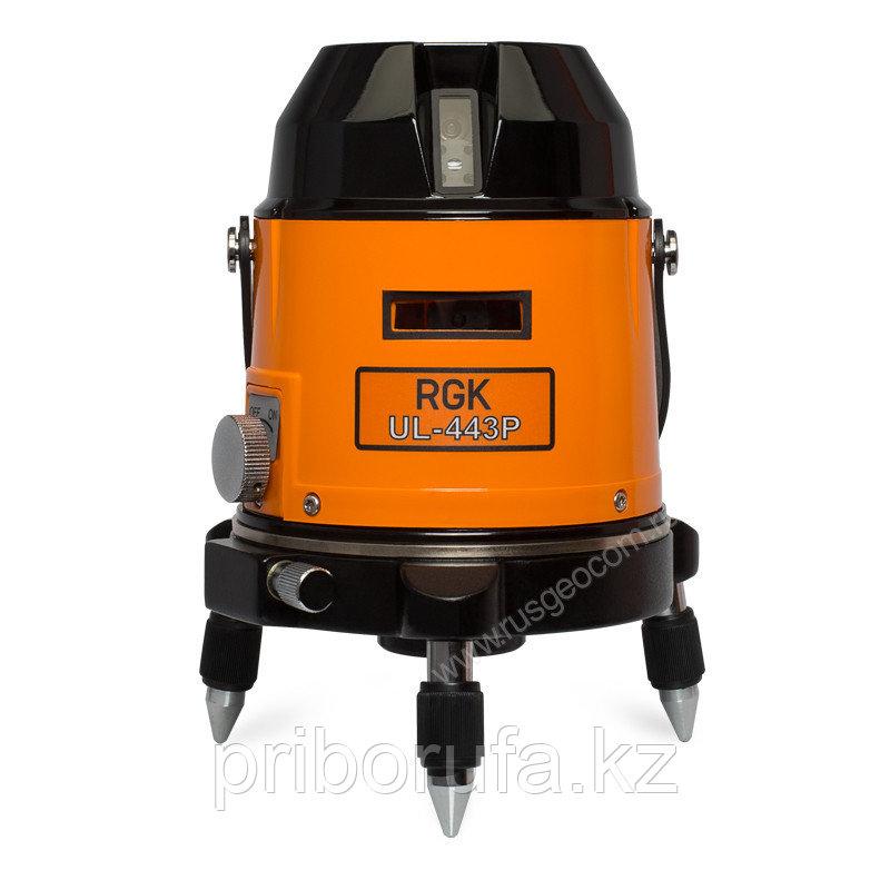 Лазерный нивелир RGK UL-443P