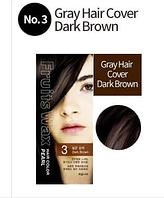 Краска для волос на фруктовой основе Welcos Fruits Wax Hair Color ( 3 Brown)
