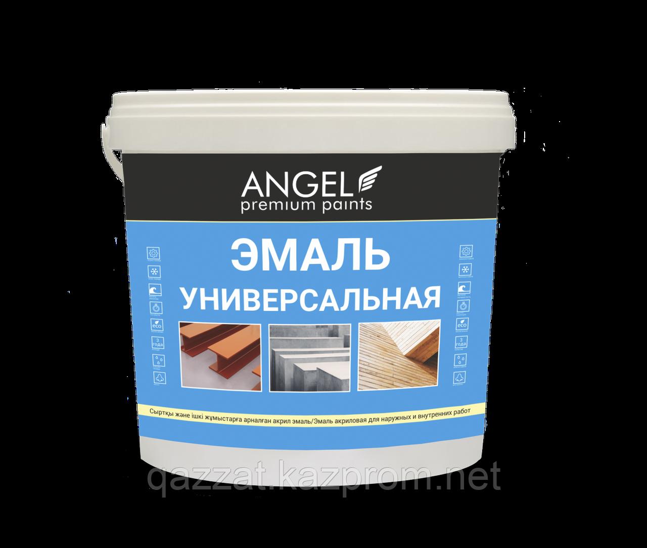 """Эмаль акриловая  """"Angel""""  Универсальная  0,8 кг"""