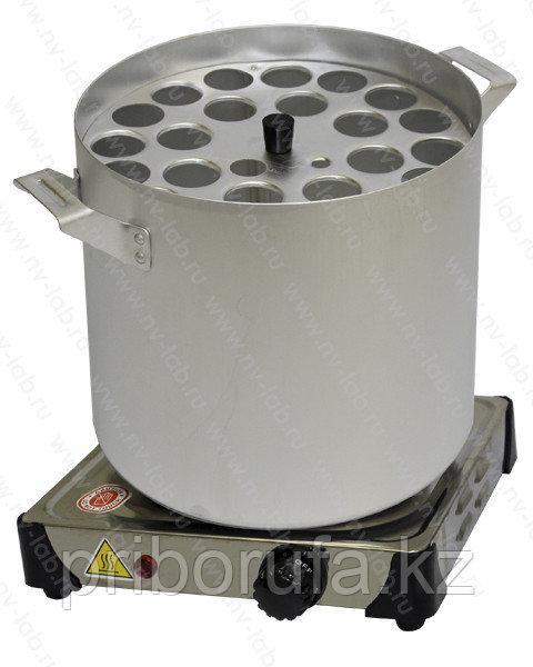Баня водяная для жиромеров(бутирометров) с электроплиткой БЖ-1
