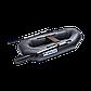Лодка гребная надувная плоскодонная Apache 220, Грузоподъемность: 170кг, Вместимость: 1.5 чел., Кол-во отсеков, фото 2