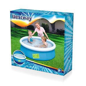 Круглый детский бассейн Bestway 57241 (Габариты: 152 х 38 см, на 480 литров), фото 2