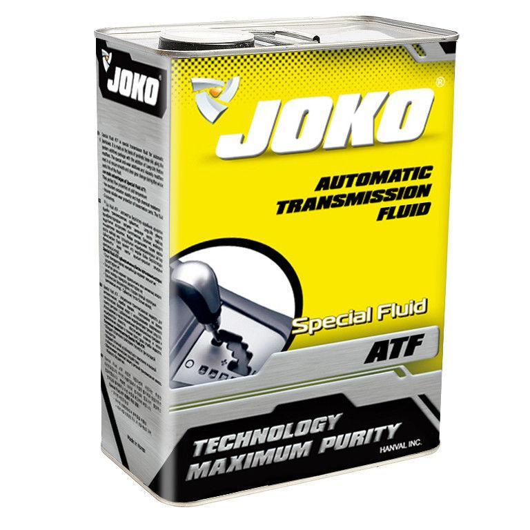 Трансмиссионное масло в АКПП JOKO ATF Special Fluid 4 литра