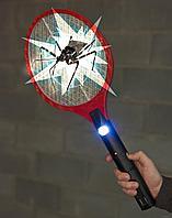 Электрическая мухобойка с фонарем (уничтожитель комаров), фото 1