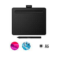 Графический планшет, Wacom Intuos Small, СTL-4100K-N, Чёрный