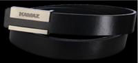 Ремень кожаный черный 105, 110, 115см, 120, 125см (заказывать длину)