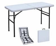 Раскладной стол чемодан для пикника 120 см