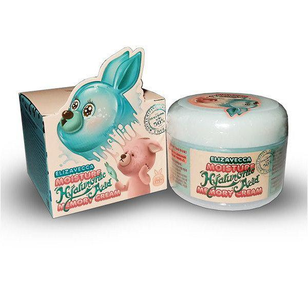 Увлажняющий крем с гиалуроновой кислотой/ELIZAVECCA Moisture Hyaluronic Acid Memory Cream