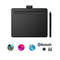 Графический планшет Wacom Intuos Small Bluetooth, CTL-4100WLK-N, Чёрный