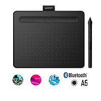 Графический планшет Wacom Intuos Medium Bluetooth, CTL-6100WLK-N, Чёрный , фото 1