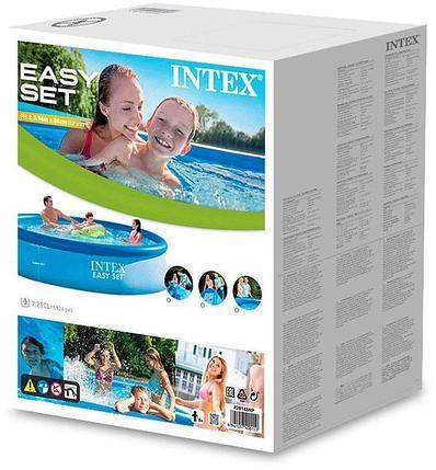 Круглый надувной бассейн Intex 28143 ( Габариты: 396 х 84 см, на 7290 литра ), фото 2