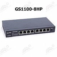 8-портовый коммутатор Gigabit Ethernet c 4 портами High Power PoE, фото 1