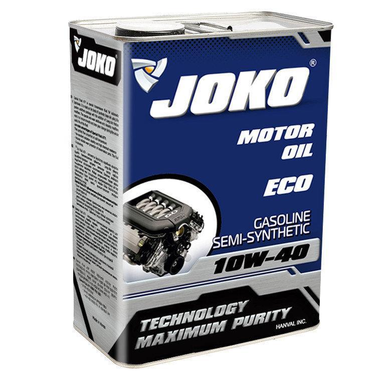 Моторное масло JOKO GASOLINE ECO Semi-synthetic SJ/CF 10w-40 4л