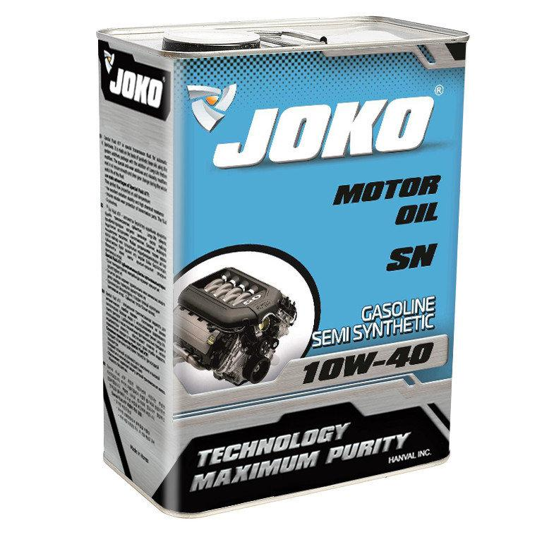 Моторное масло JOKO GASOLINE Semi-synthetic SN/CF A3/B4 10w-40 4л