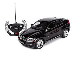 Rastar Радиоуправляемая машинка BMW X6, 1/14 (черный)