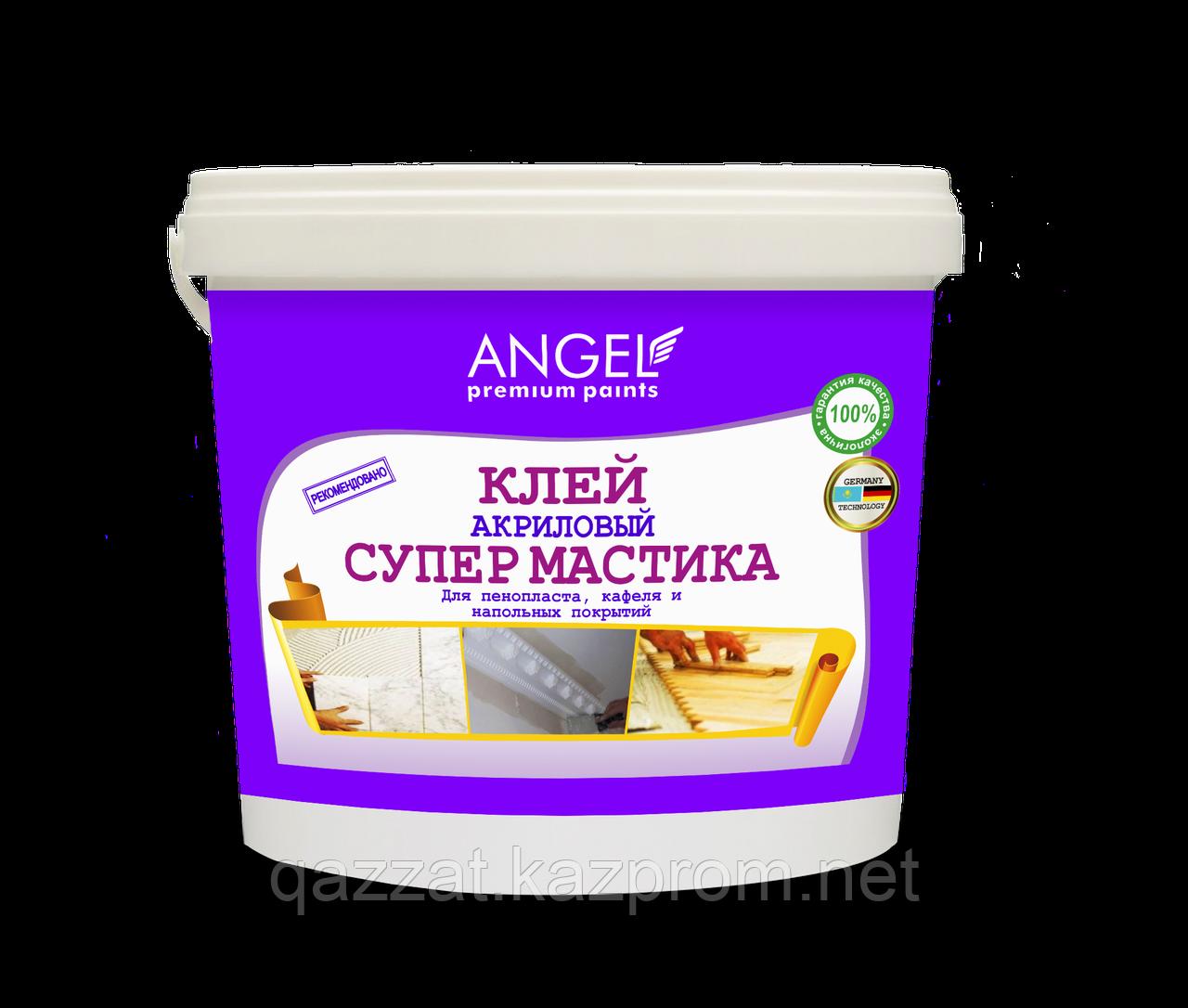 """Клей акриловый Супермастика """"Angel"""" 1,5 кг"""