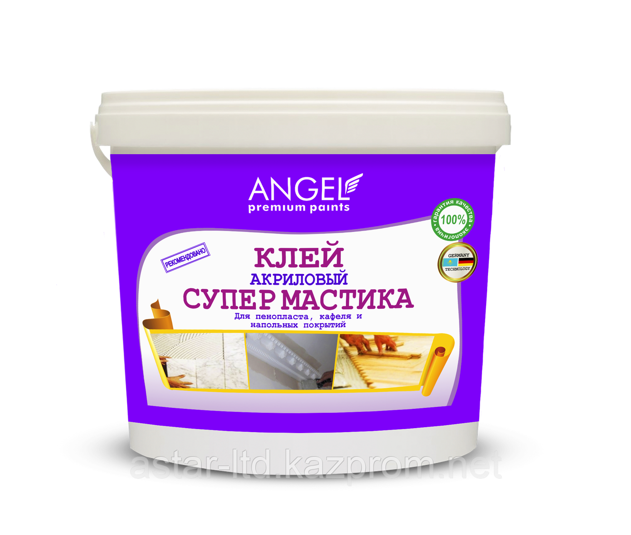 """Клей акриловый Супермастика """"Angel"""" 3,5 кг"""