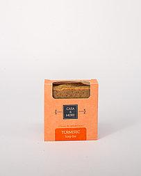 Натуральное мыло ручной работы из куркумы