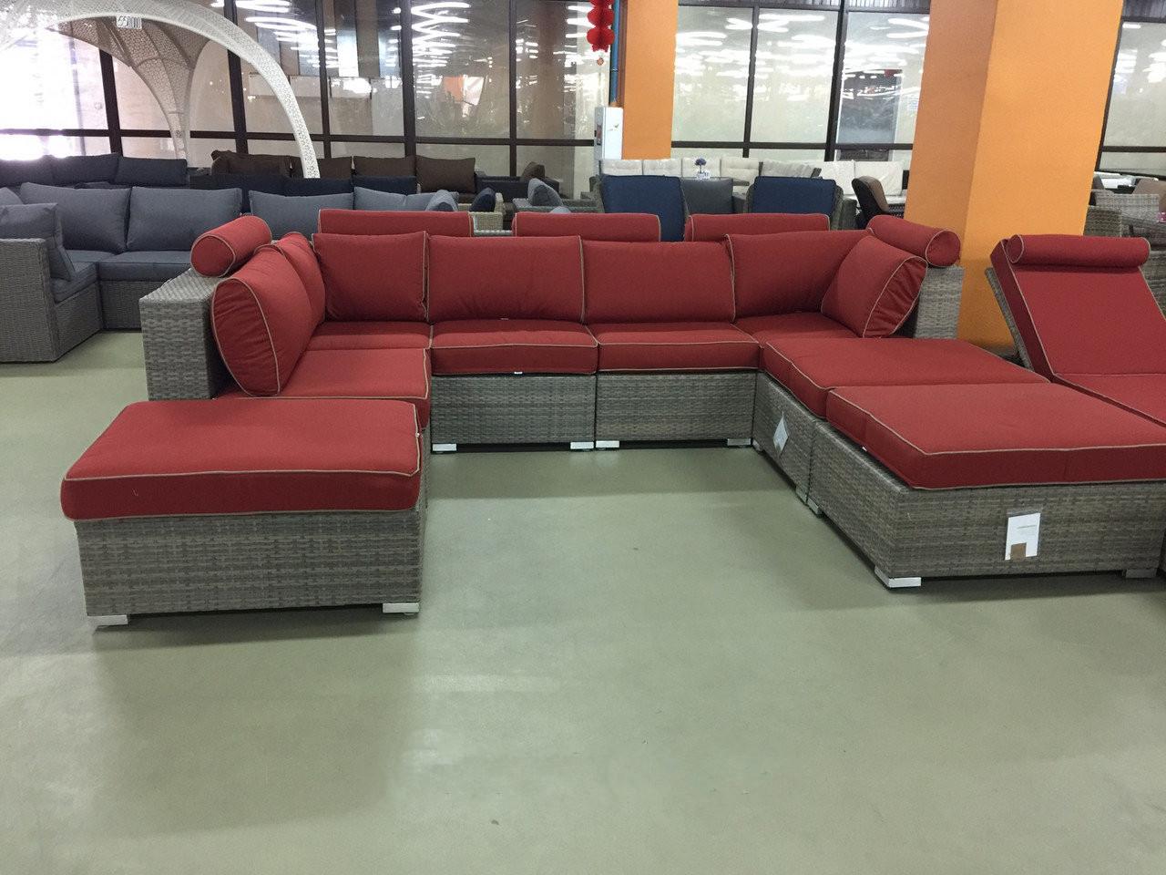 Комплект мебели диван шезлонг Фламинго