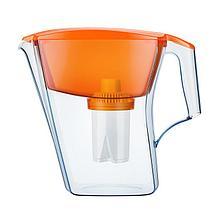 Фильтр-кувшин очистки воды Аквафор Лайн оранжевый 2,8 л
