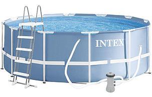 Круглый каркасный бассейн Intex 26718 (366 х 122 см, на 10685 литра ) доставка, фото 2