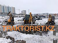 Услуги/Аренда Экскаватора-погрузчика JCB-3CX с гидромолотом и ямобуром