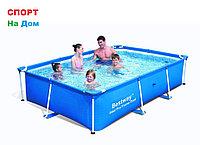 Каркасный прямоугольный бассейн Bestway 56403 (259 х 170 х 61 см, на 2300 литра)
