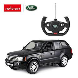 Rastar Радиоуправляемая машинка Range Rover Sport, 1/14 (черный)